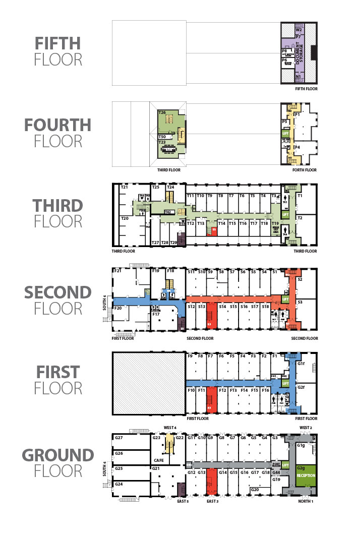 Office Floorplan | AHBC